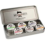 Beard Balm Collection | Leave In Conditioner To Style & Shape Your Beard | Non Greasy | Promotes Beard Growth and Shine | Stops Beard Irritation | 6 High Quality Scents In a Set
