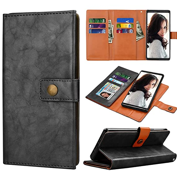 082073771c87 Amazon.com: Njjex Galaxy Note 9 Case, for Note 9 Wallet Case ...