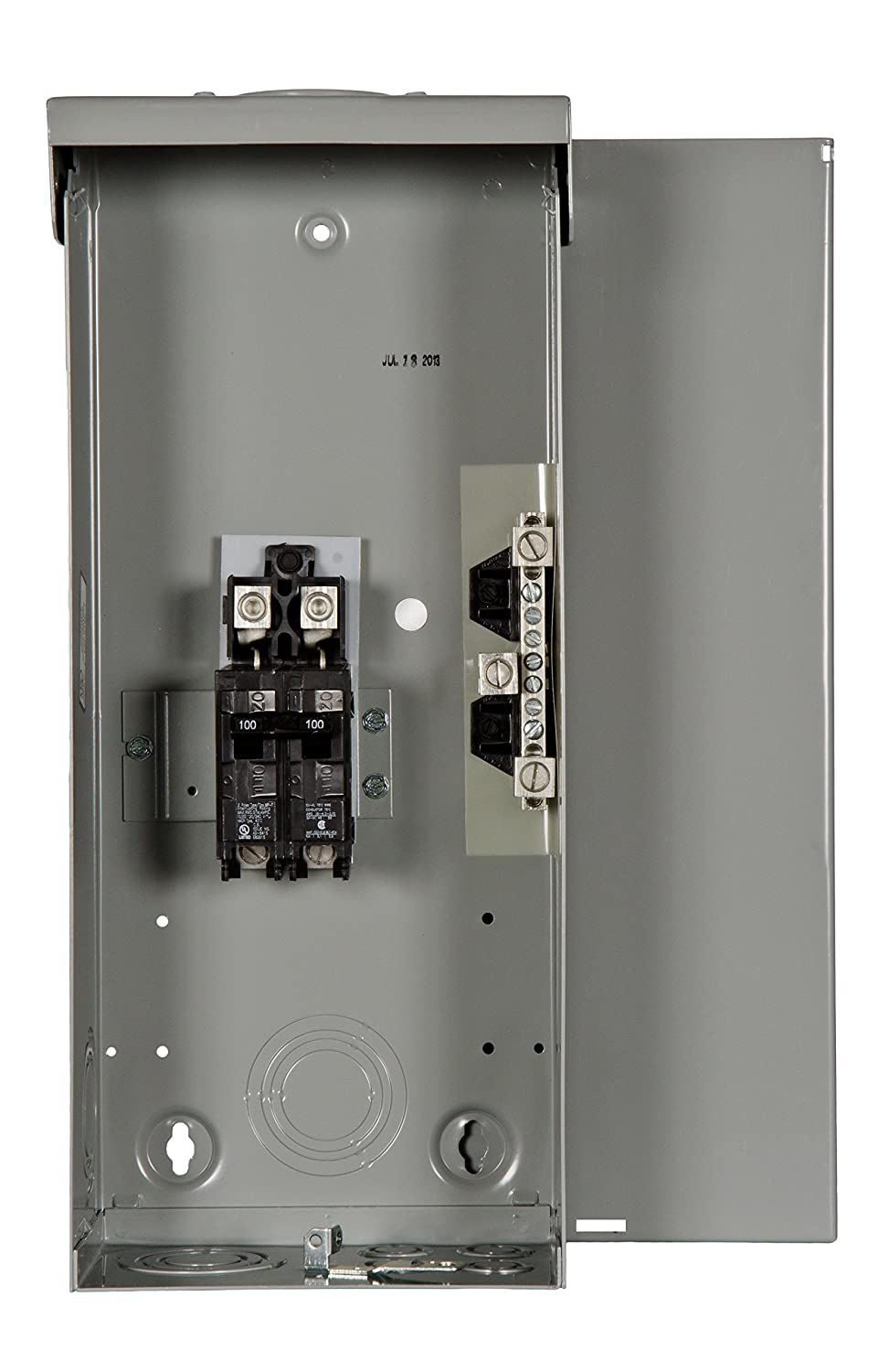Murray Lw100cru 100a Circuit Breaker Enclosure Included Installation With A Pb30 Inlet On Cutler Hammer Main
