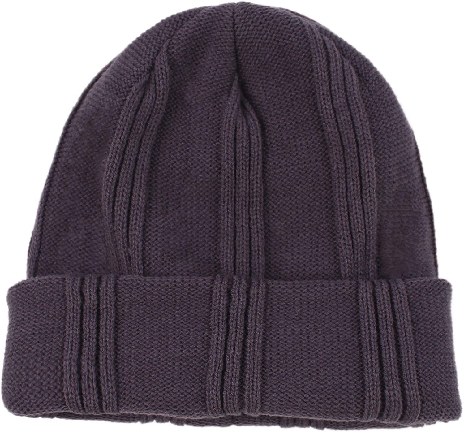 LANGZHEN Daily Winter hat for Men,Cable /Knit Warm Beanie Cap Thick Snow Hats/