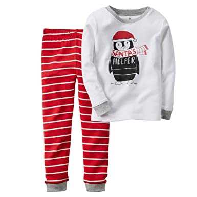 7969c0cd53f7 Amazon.com  Carter s Baby Boys-2-Piece Snug Fit Cotton PJs  Clothing