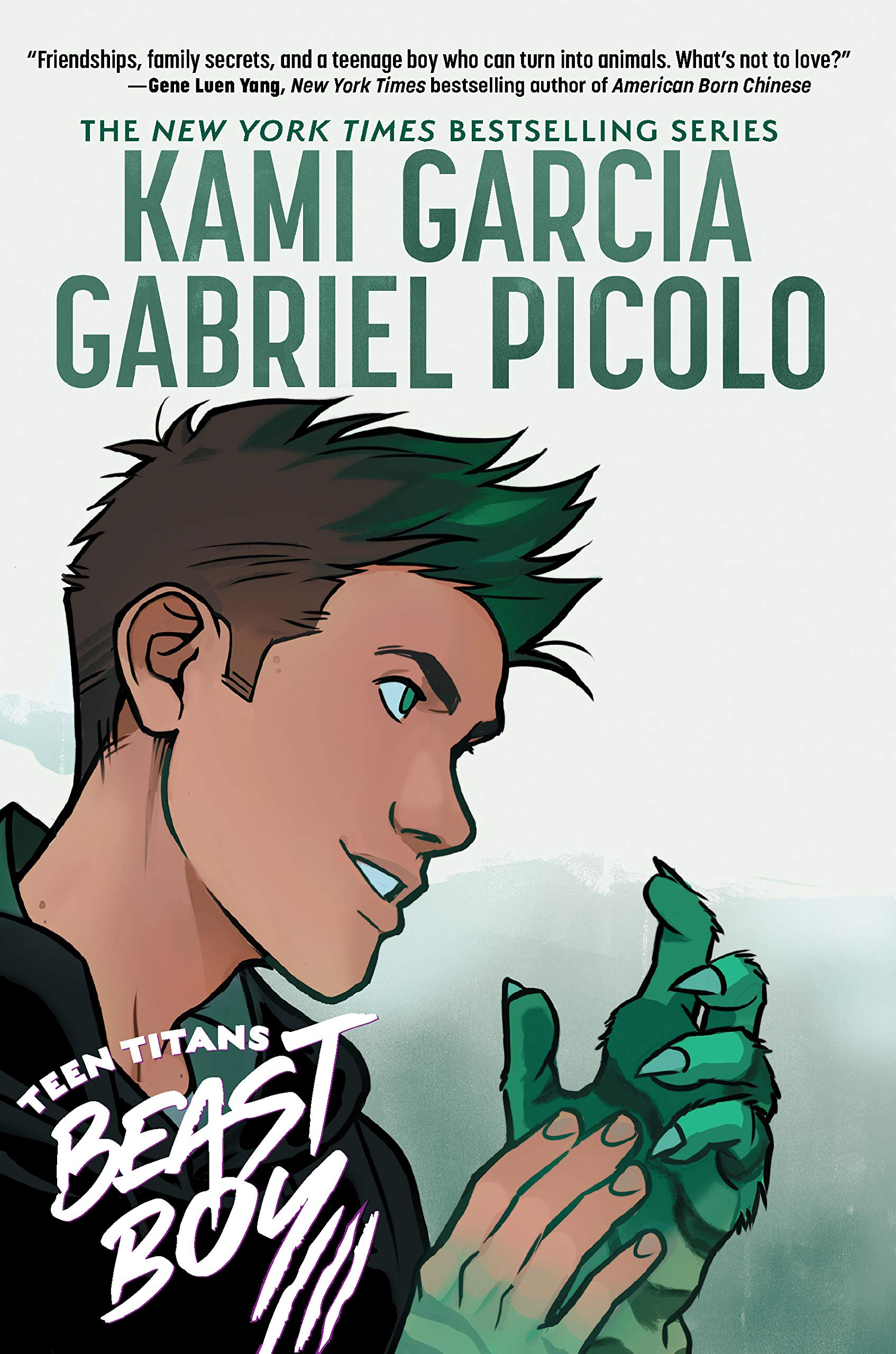 Amazon.com: Teen Titans: Beast Boy (9781401287191): Garcia, Kami, Picolo,  Gabriel: Books