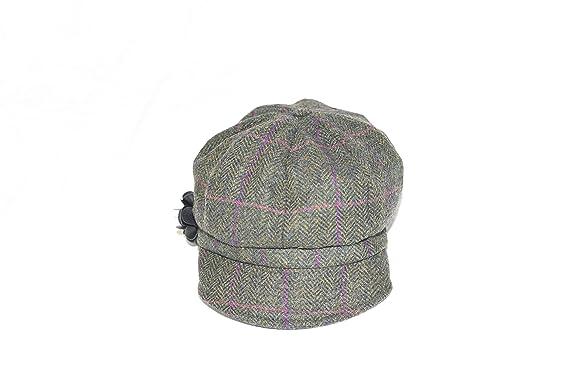 0844e720 Women's Newsboy Cap 100% Wool Irish Made at Amazon Women's Clothing ...