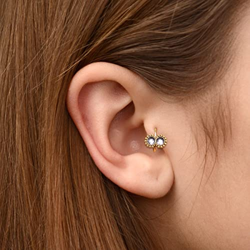 Amazon Com Surgical Steel Tragus Clicker Jewelry Cz Cartilage