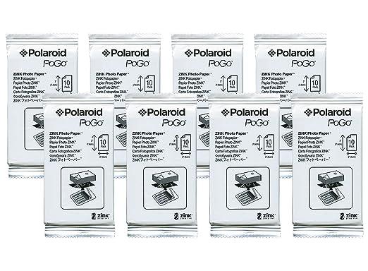 Polaroid 2 x 3, papel fotográfico ZINK - Película Compatible con ...
