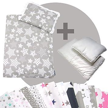 Rawstyle 4 Tlg Set Bezug Stars Für Kinderwagen Bettwäsche Decke