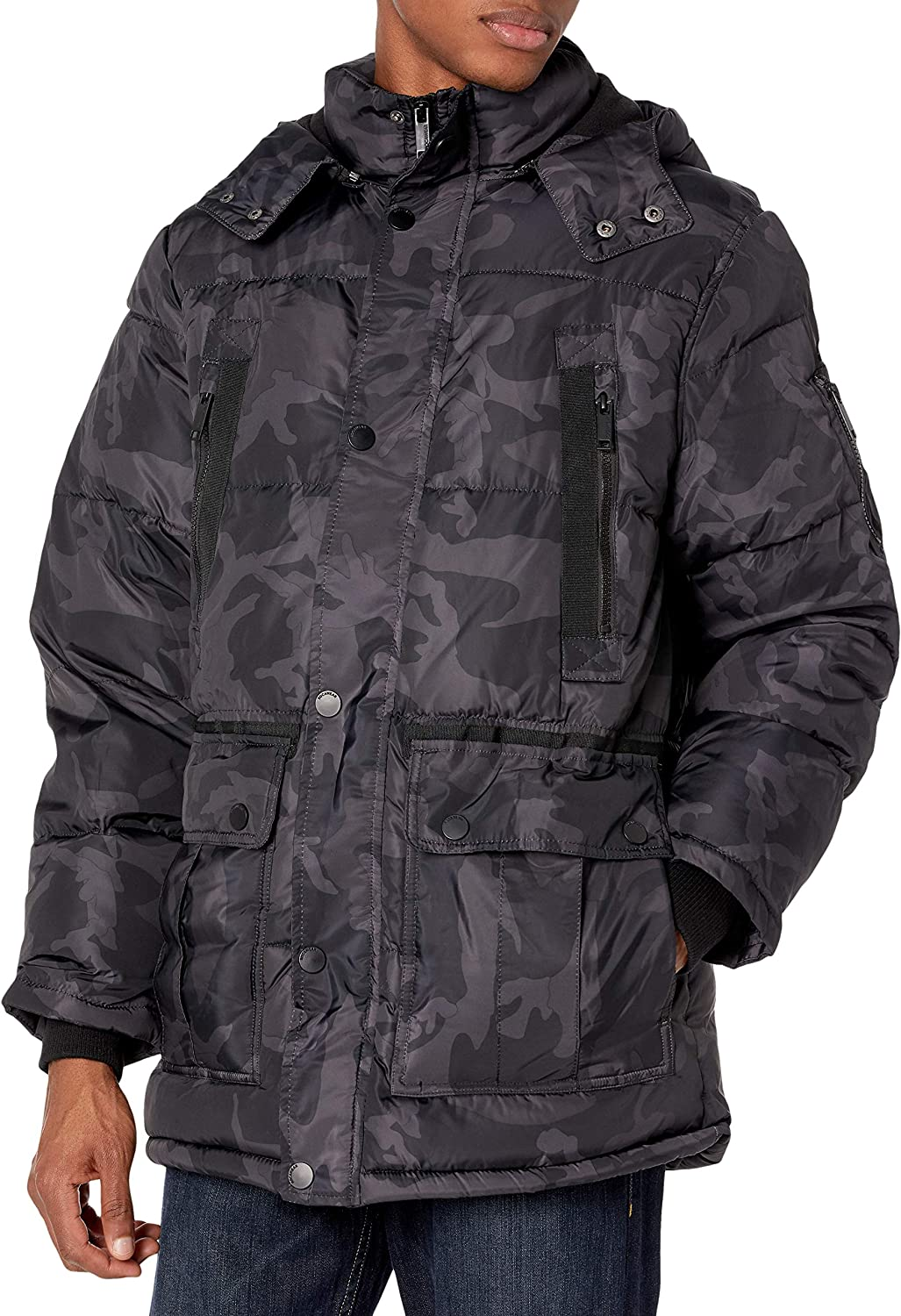 Rocawear mens Puffer: Clothing
