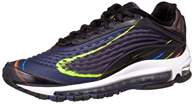 premium selection 3fee8 67f0c Nike Men s Air Max Deluxe Gymnastics Shoes, Black Midnight Navy Reflect  Silver 001
