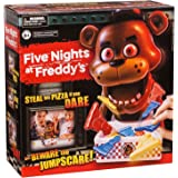 """Five Nights at Freddy's Game """"Steal His Pizza If You Dare"""" Board Game By Moose Toys Dimension 8.1 x 4.8 x 4.9 inches"""