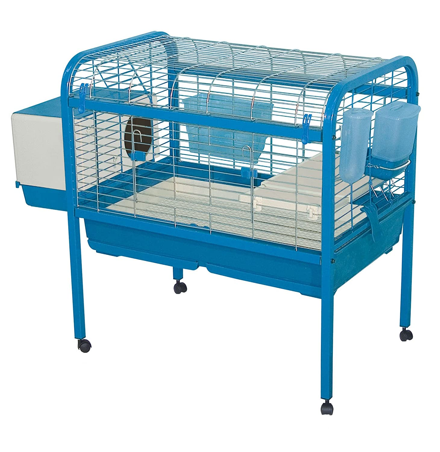 Marchioro Luna 82 Cage for Small Animals with wheels, 32.25 inches ...