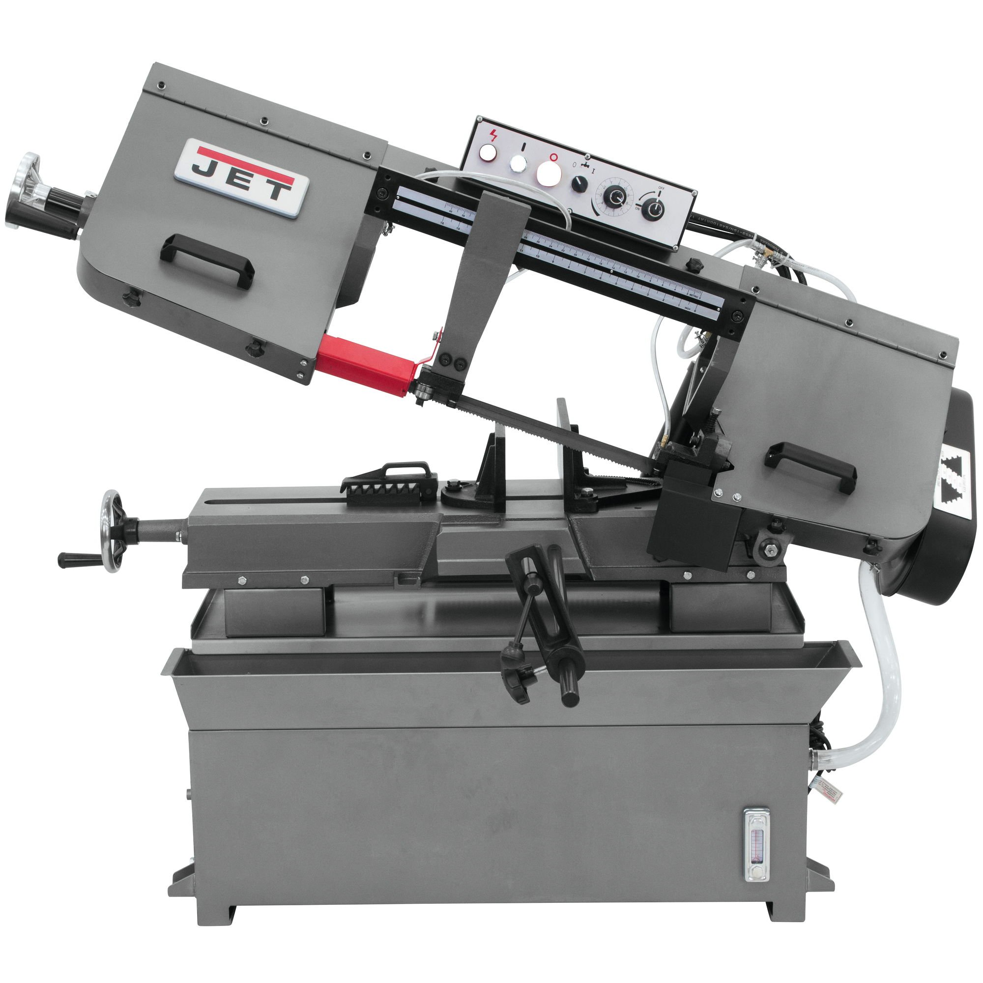 Jet HBS-916W 1-1/2 HP 115-Volt/230Volt 9-Inch by 16-Inch Capacity Horizontal Band Saw by WMH Tool Group (Image #1)