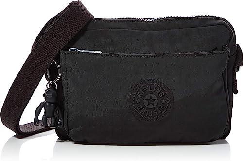 Obediencia proposición ambiente  Kipling Abanu Women's Cross-Body Bag, Black (Black Noir), 20x13.5x7.5  Centimeters (B x H x T): Amazon.co.uk: Shoes & Bags