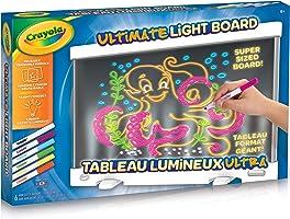 Crayola Ultimate Light Board, Holiday Kids, Age 6, 7, 8, 9