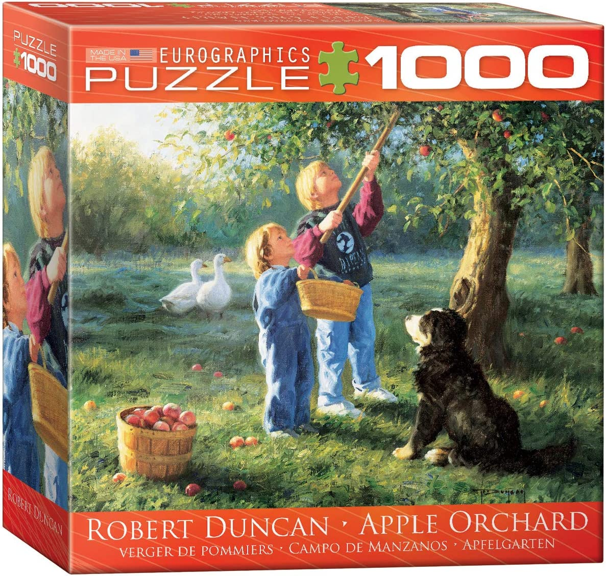 EuroGraphics Apple Orchard by Robert Duncan Jigsaw Puzzle (Small Box) (1000-Piece)