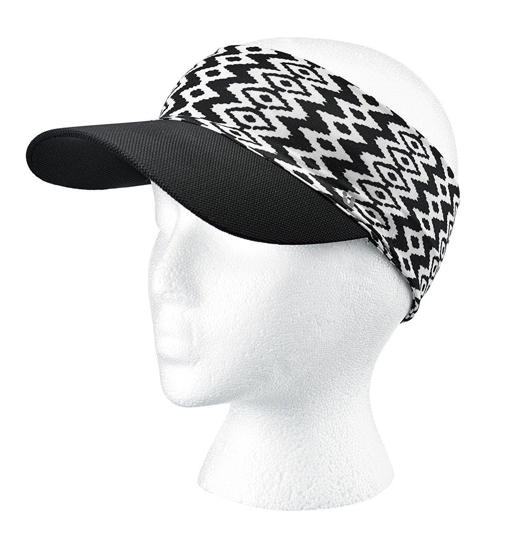 Amazon.com: Scunci Visor Headwrap, Black/White Aztec: Beauty