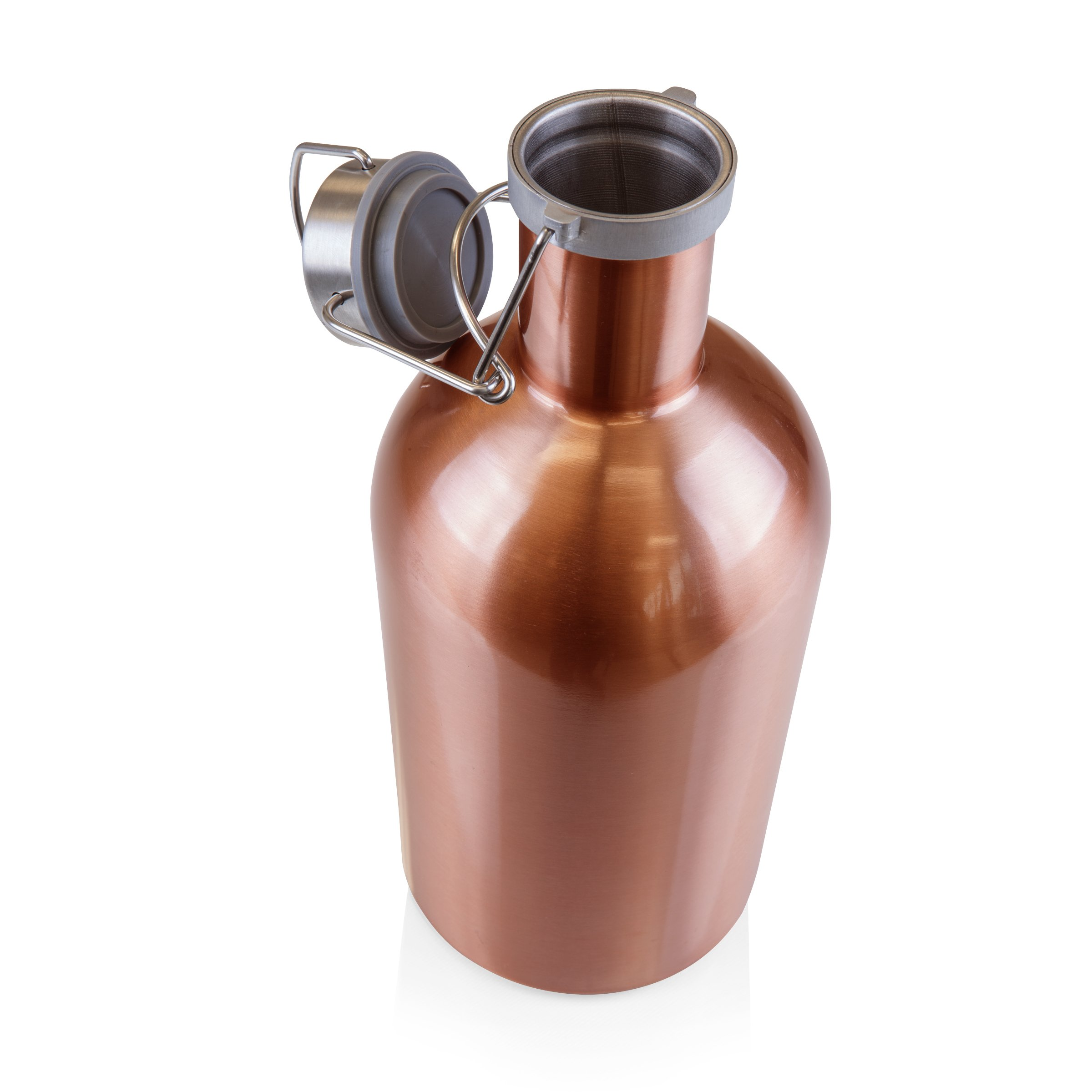 Stainless Steel 64-Ounce Beer Growler by LEGACY - a Picnic Time Brand by LEGACY - a Picnic Time Brand (Image #2)