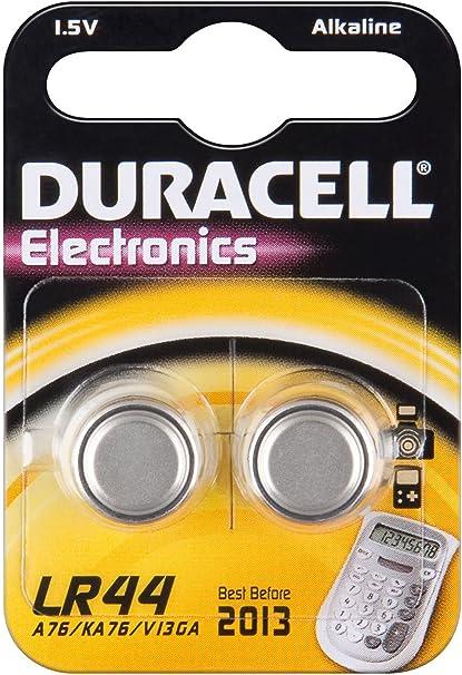 Lr 44 Ag 13 V 13 Ga Duracell 2bl Knopfzelle Elektronik