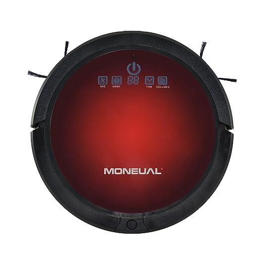 Moneual Ultrasonic Smart Navigation Robot aspirador Rojo y negro ...