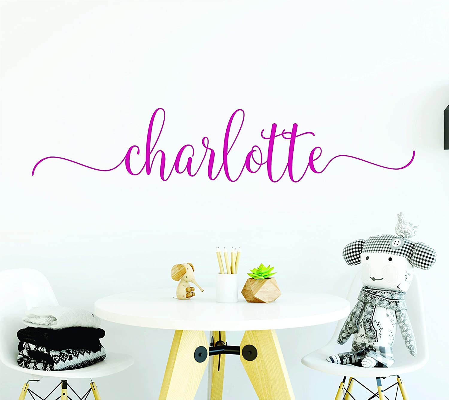 Name Wall Decals Name Stickers Name Decals Girls Wall Decor Letter Decals For Wall Personalized Wall Decor