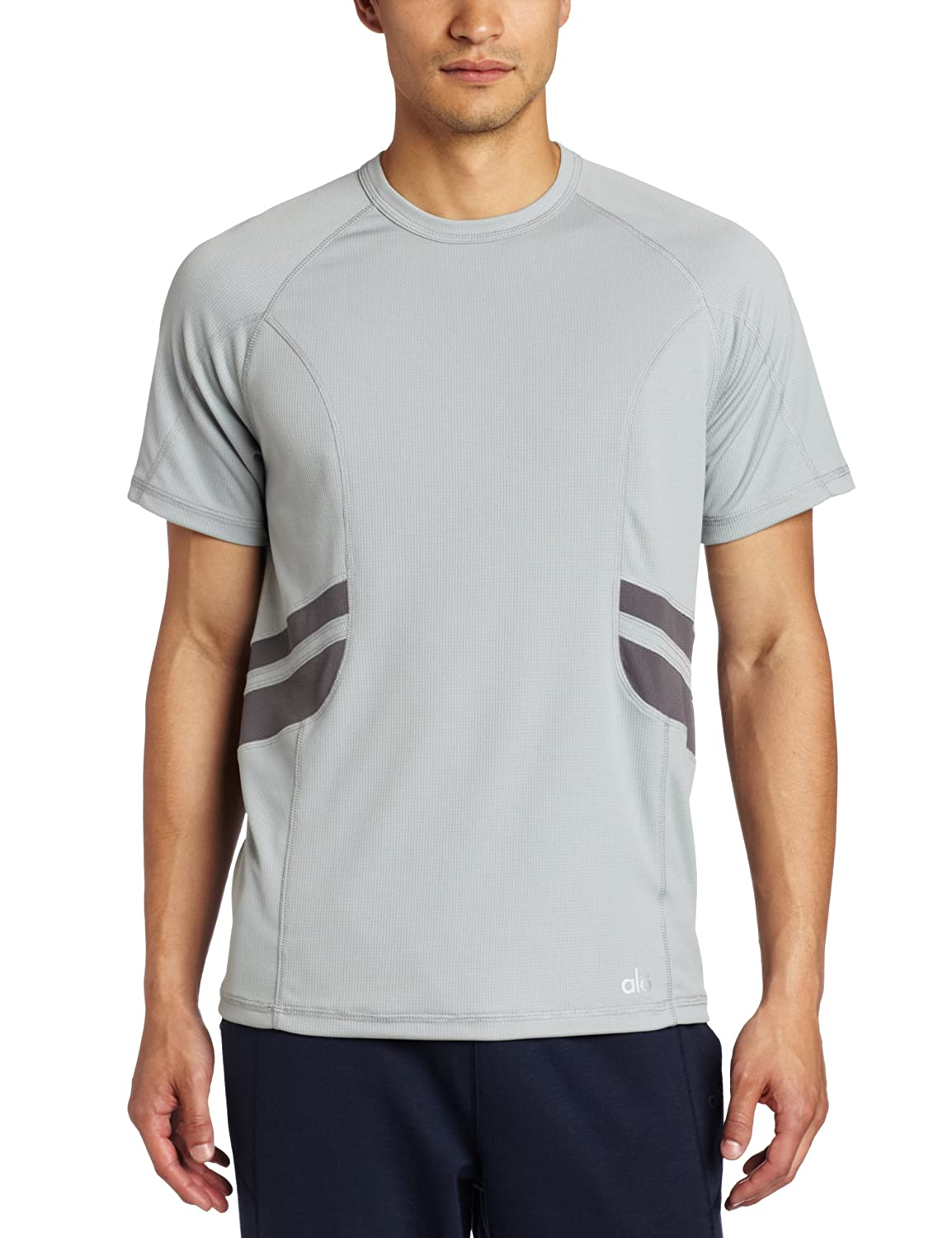 Alo Yoga Mens Capture Short-Sleeve T-Shirt