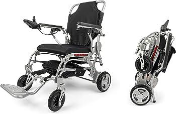 Portola Tech Foldable Lightweight New Electric Wheelchair