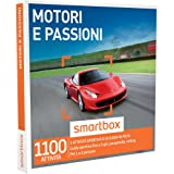 SMARTBOX - Cofanetto Regalo - MOTORI E PASSIONI - 1100 attività sportive o di guida in pista