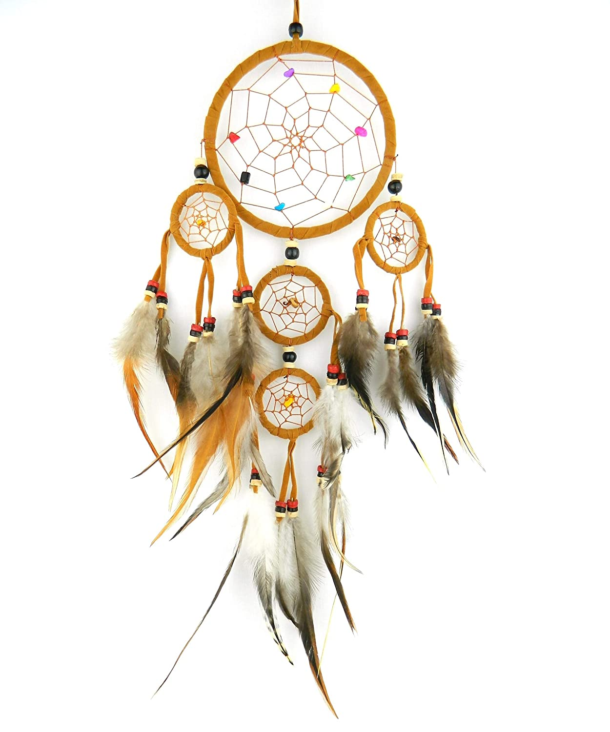 Dream catcher Natural colour traditional Native american indian dreamcatcher