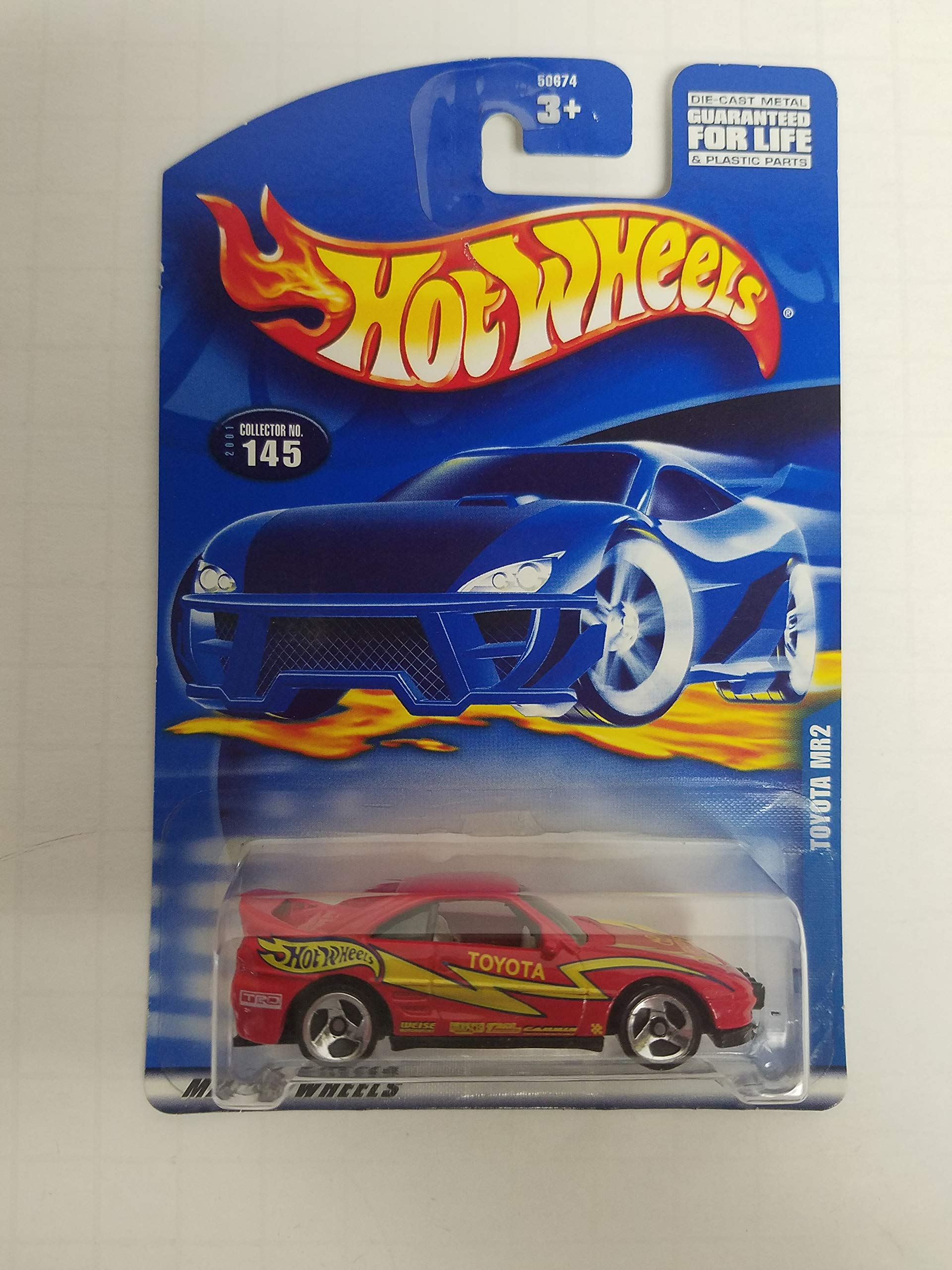 Toyota MR2 Hot Wheels 2001 diecast 1/64 scale car No. 145
