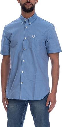 Fred Perry - Camisa Oxford Classic para Hombre Ciel: Amazon.es: Ropa y accesorios