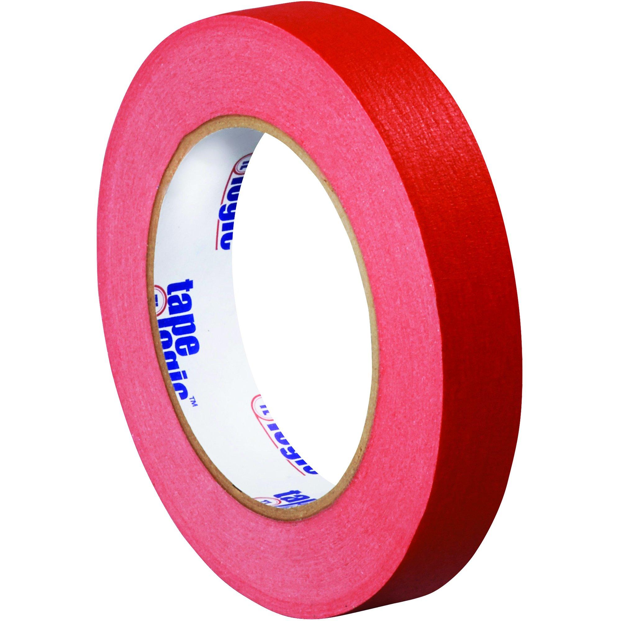 BOX USA BT93400312PKR Tape Logic Masking Tape, 3/4'' x 60 yd., Red (Pack of 12)