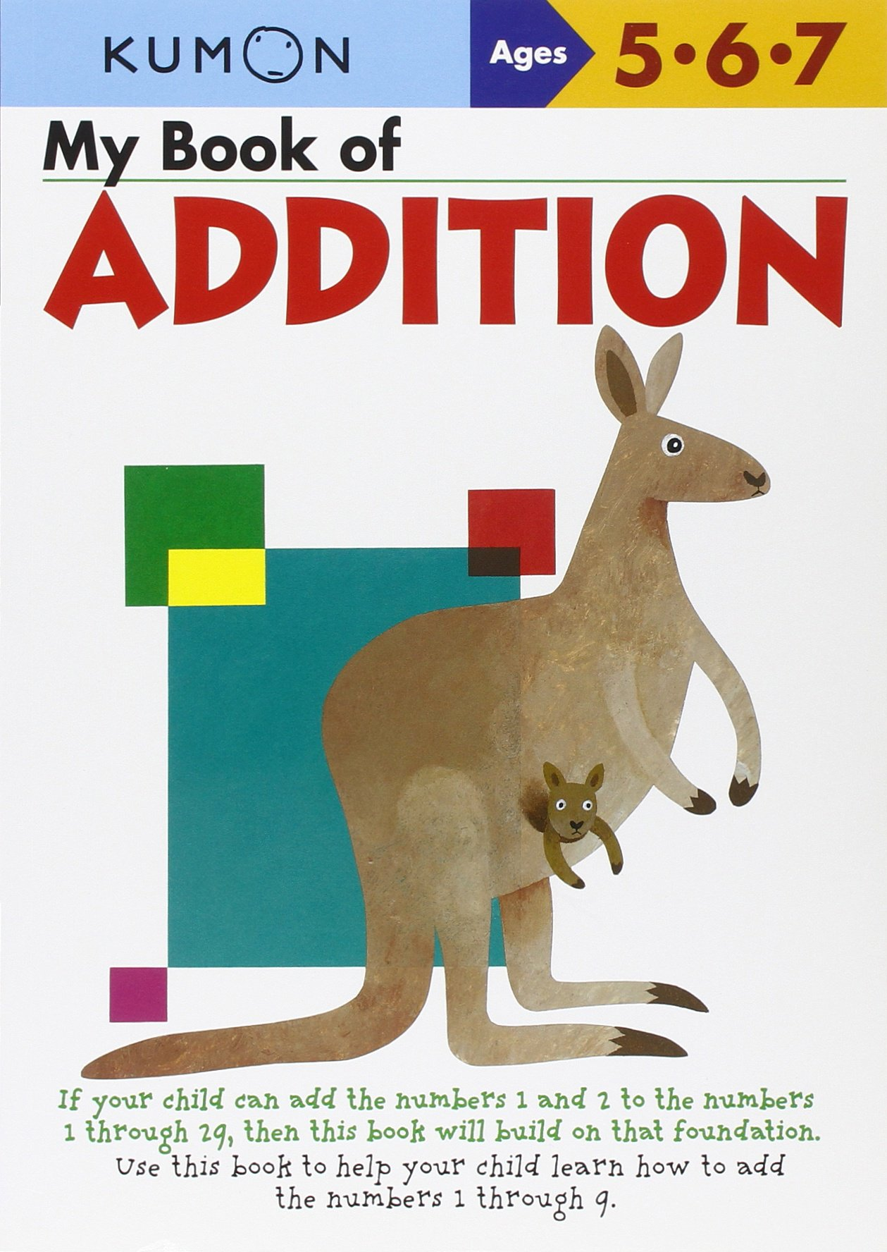 My Book Of Addition: Ages 5 6 7