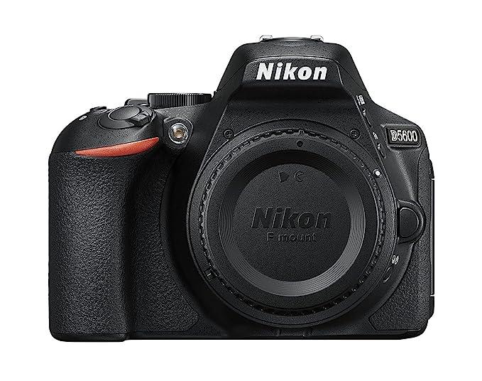 Nikon D5600 DX-format Digital SLR Body (Black) Digital SLRs at amazon