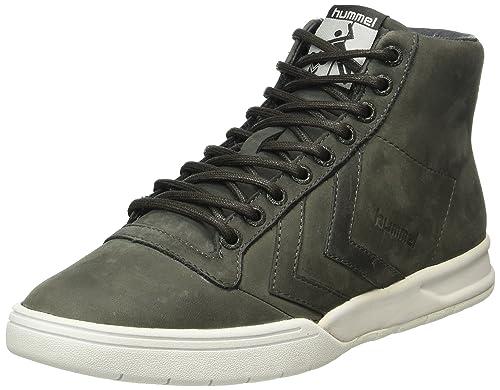 Hummel HML Stadil Winter High Sneaker, Scarpe da Ginnastica Alte Unisex - Adulto, Grigio (Beluga), 41 EU