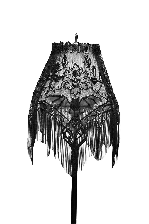 Amazon heritage lace gothic black lace halloween gala 4 way amazon heritage lace gothic black lace halloween gala 4 way mantle scarf lampshade topper window kitchen dining mozeypictures Gallery