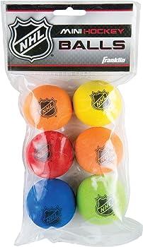 Franklin Sports 6Pc. Mini Hockey Balls