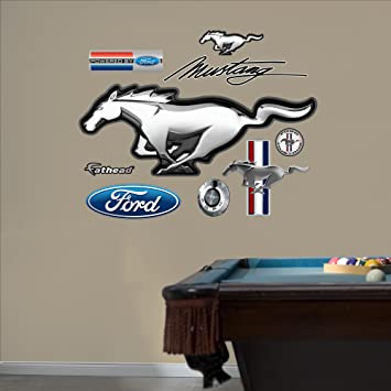 "Fathead Wall Decal, ""Ford Mustang ..."