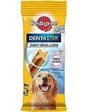 Pedigree DentaStix Daily Dental Chew for Large Dogs 25 kg+, 7 Sticks, 270 g (Pack of 10)