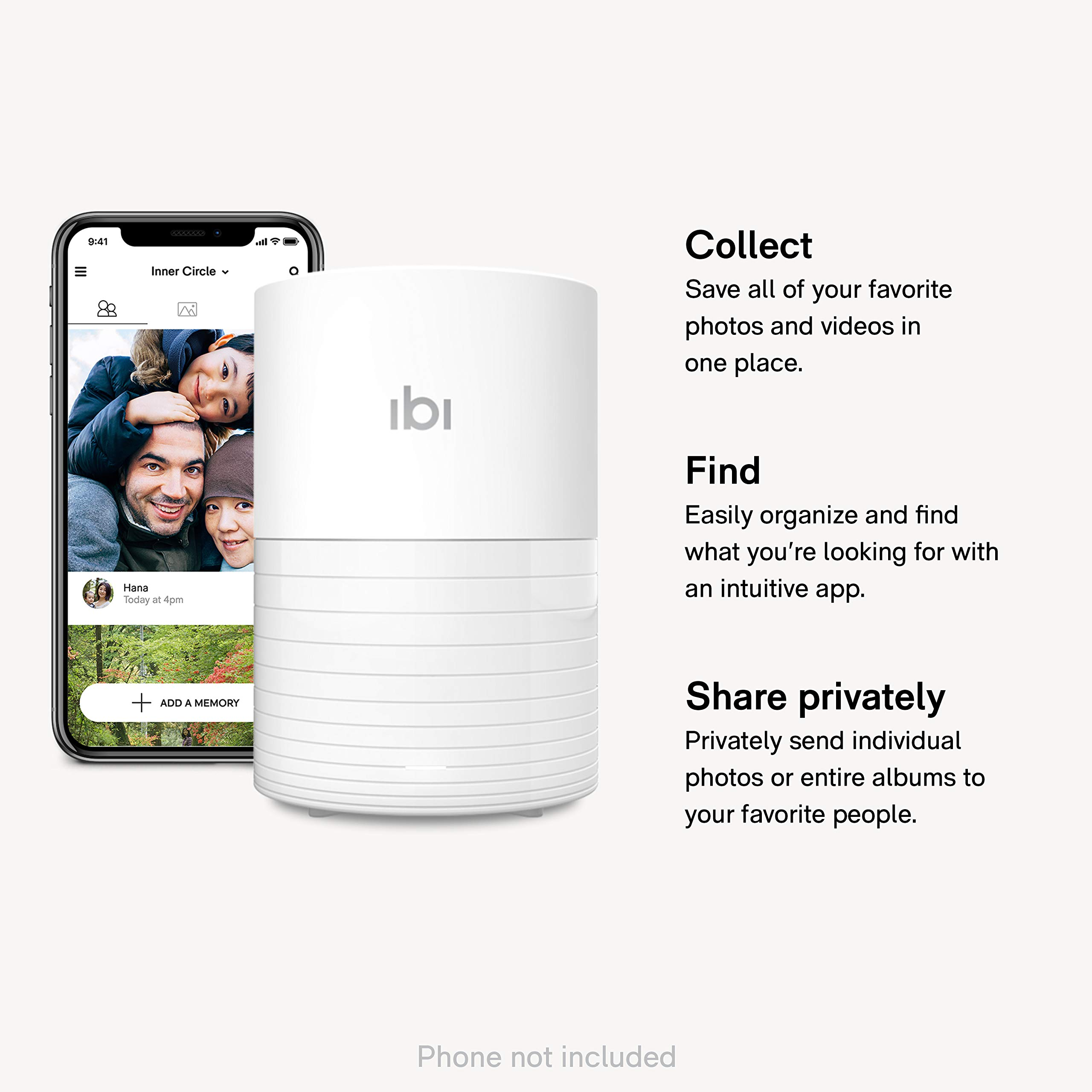 ibi - The smart photo manager - Collect, Organize and Privately Share Photos & Videos with your Favorite People - US Version by SanDisk (Image #2)