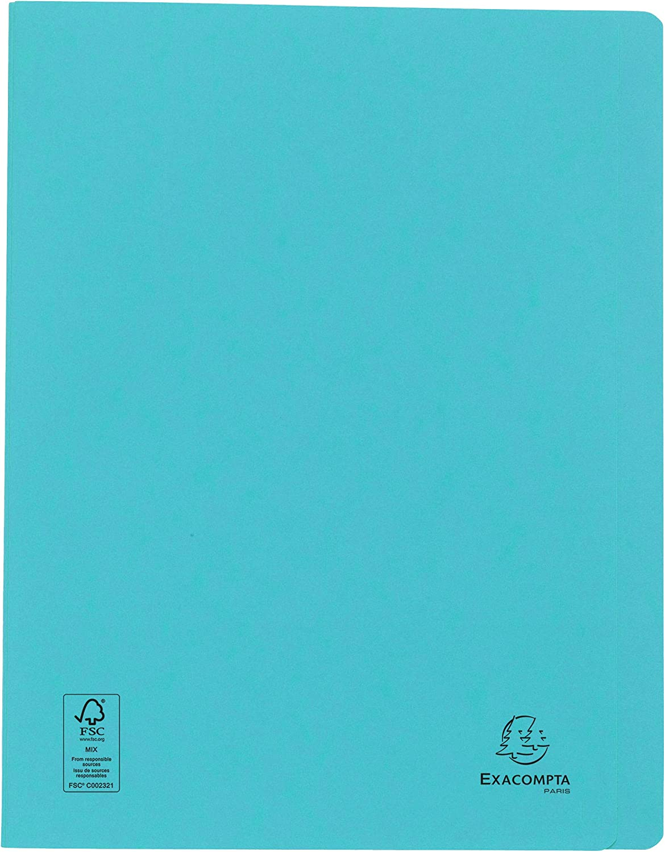 Exacompta 38996E Schnellhefter Heftmechanik, Manila-Karton, 265g, DIN A4 1 St/ück elfenbein