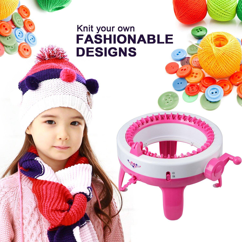 Childrens Knitting Machine Weaver Toy Handicrafts Maker