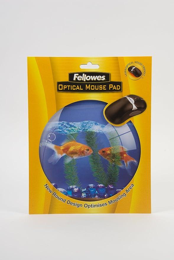Fellowes Circular Pecera - Alfombrilla ratón rígida: Amazon.es: Informática