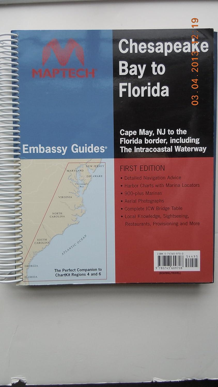 CHESAPEAKE TO FLORIDA EMBASSY GUIDE Maptech 157-BKCHFL