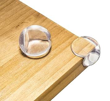 12 x Eckenschutz Kantenschutz Stoßschutz Tisch Möbel Baby Kinder Braun Deko