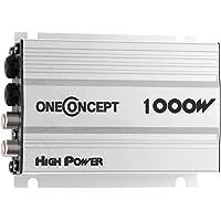 oneConcept Amplificador de Coche (4x30w RMS, Potencia máxima