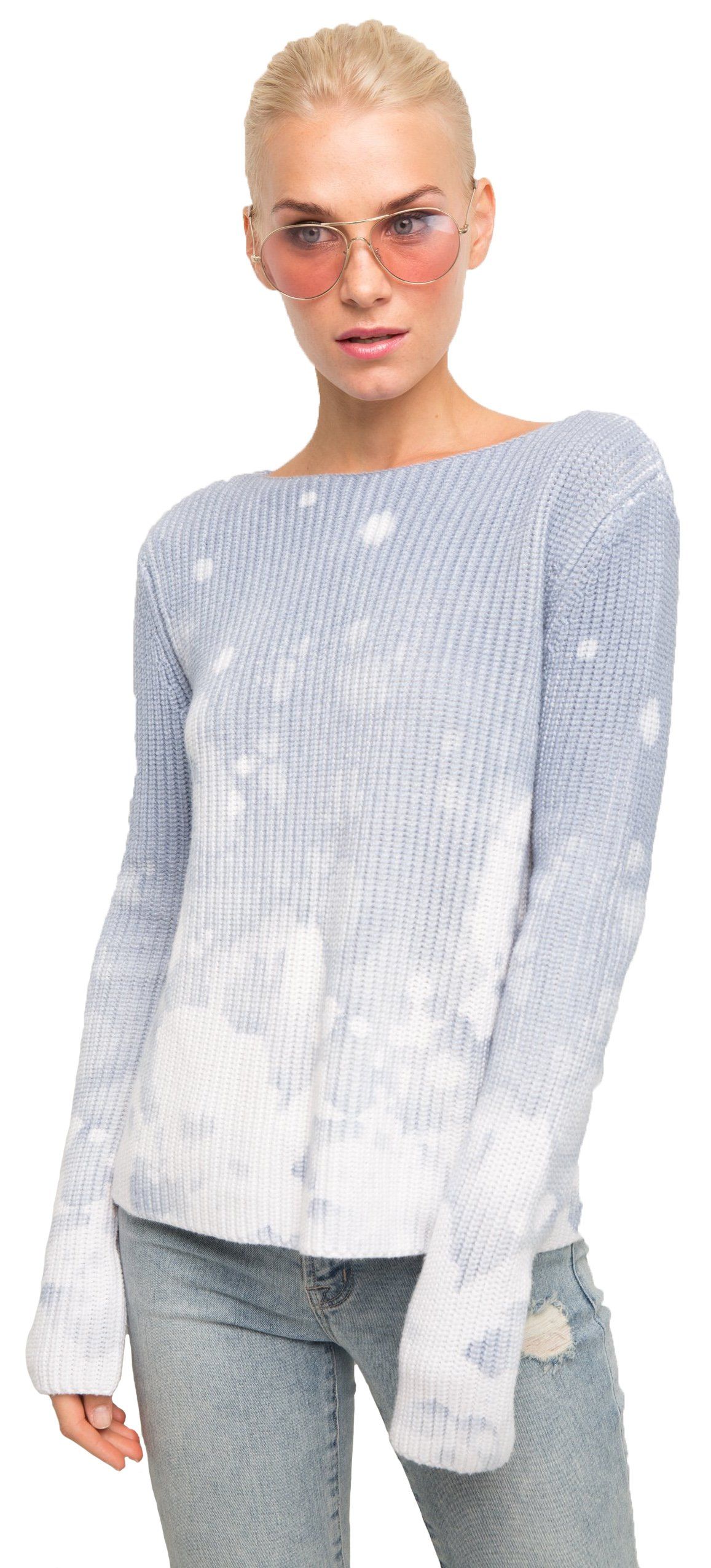 Generation Love Jayden Sweater In Bleached Blue, s by Generation Love (Image #1)