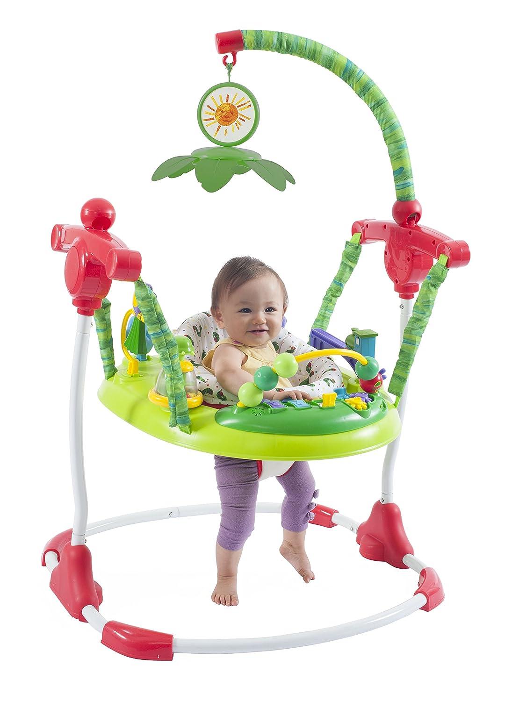 16e6cc2fe58 Amazon.com   Creative Baby Eric Carle The Very Hungry Caterpillar Activity  Jumper   Baby