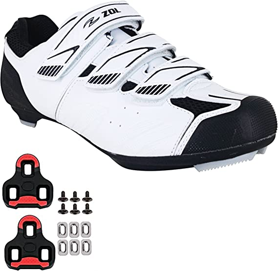 Zol Stage Plus Cycling Shoes Road Bike Shoes Spin Shoes with Buckle