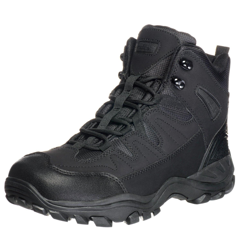 Ameritac 6'' Striker Elite Work Outdoor Tactical Men's Black Boots - 10.5