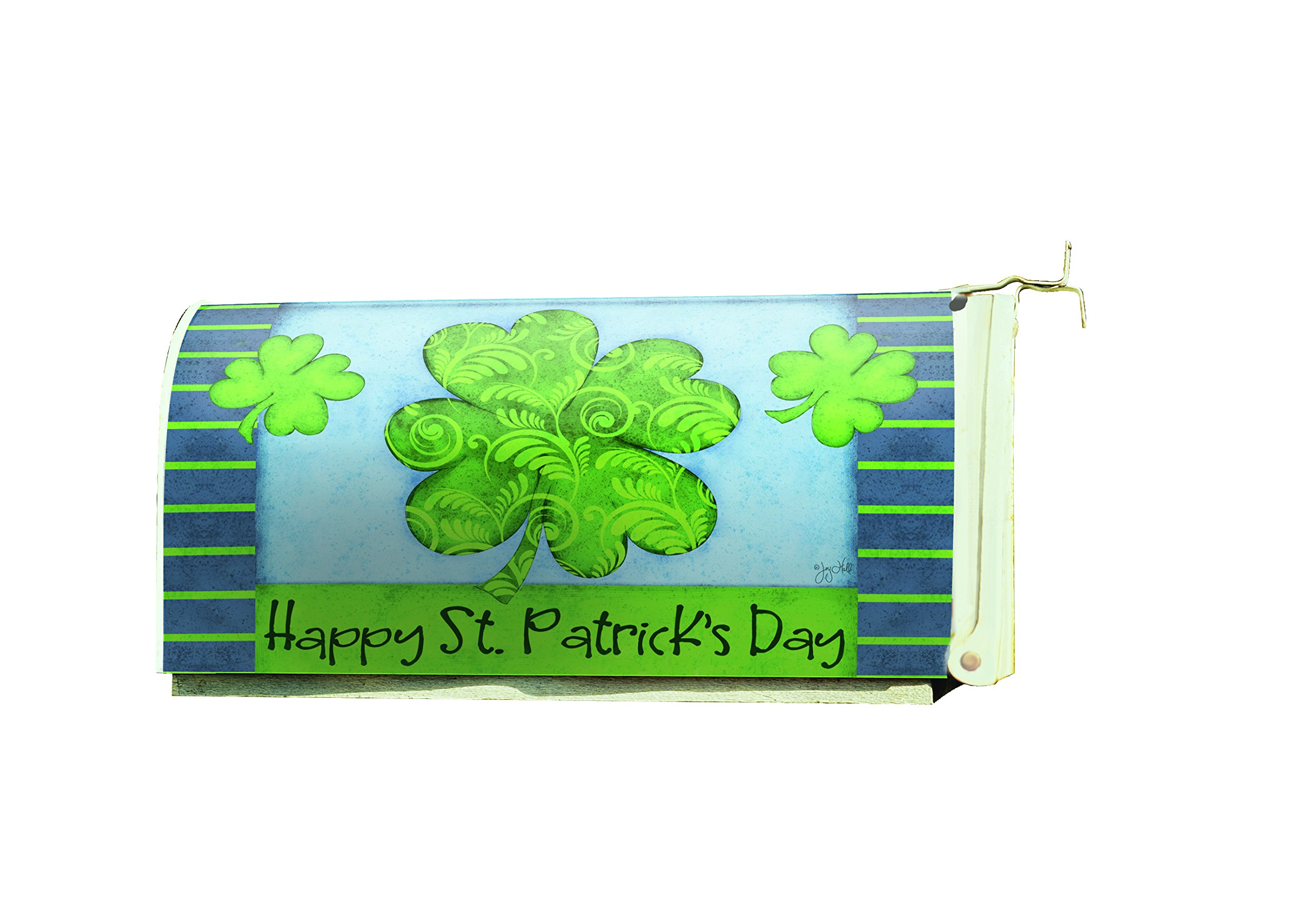 Lang - Magnetic, All-Weather, Standard-Size - Mailbox Cover - St. Patrick's Day, Exclusive Artwork Joy Hall