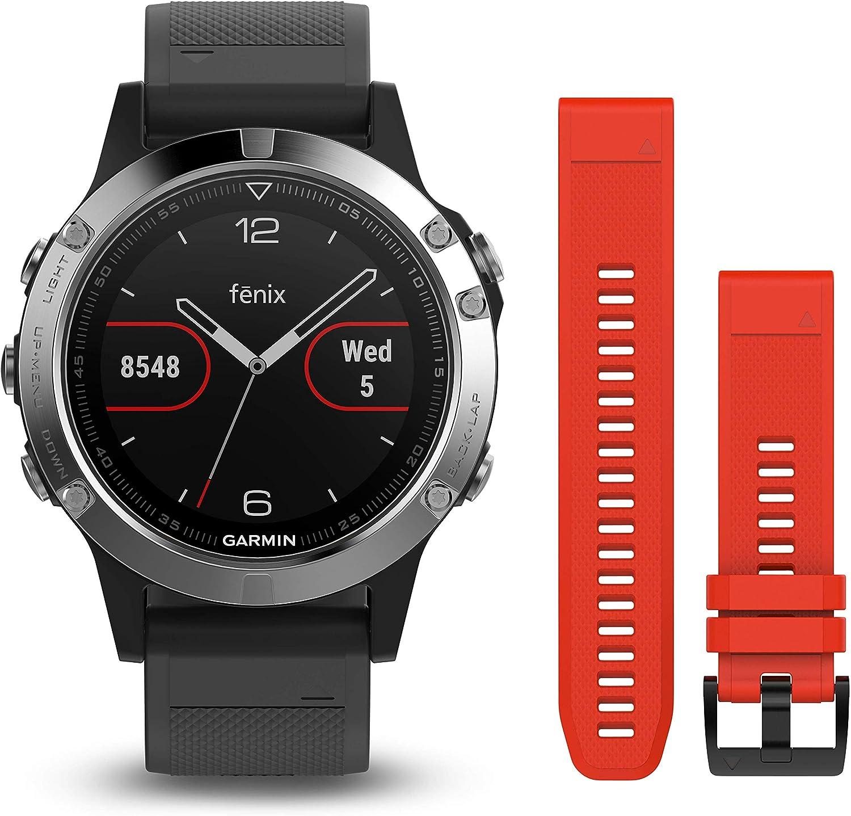 Garmin Fenix 5 - Reloj Multideporte, con GPS y medidor de frecuencia Cardiaca